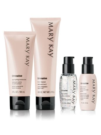 With 11 age-defying benefits in one system, the TimeWise® Miracle Set® is a tried-and-true favorite from Mary Kay...have this set and absolutely love it!! Makes my skin look so much better after only a couple weeks