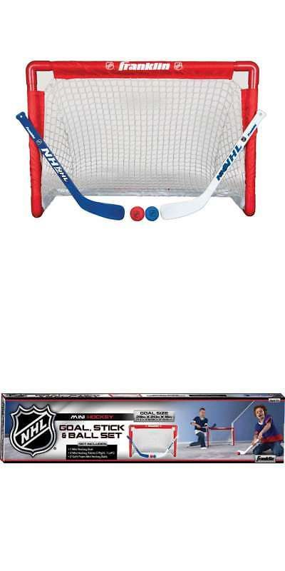 Goals And Nets 165936 Franklin Sports Nhl Mini Hockey Set Buy It Now Only 24 99 On Ebay Goals Franklin Spor Hockey Goal Franklin Sports Street Hockey