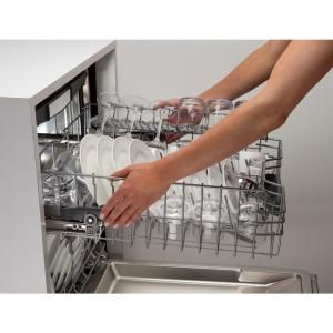 Bosch 800 Series Top Control Tall Tub Pocket Handle Dishwasher In Stainless Steel With Stainless Steel Tub Steel Tub Built In Dishwasher Top Control Dishwasher