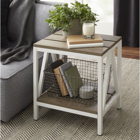 Better Homes Gardens Connell Accent Table Multiple Finishes Walmart Com Table Decor Living Room Living Room End Tables Accent Table