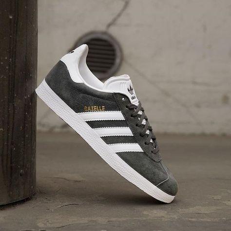 4b3a232c1f60 En efterlängtad grå Gazelle från adidas Originals dök upp härom ...