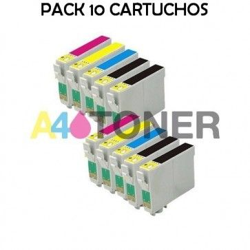 Cartuchos Compatibles T0715 Cartucho De Tinta Alternativo T0711