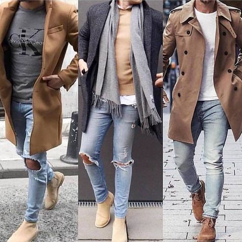 New men casual fashion.
