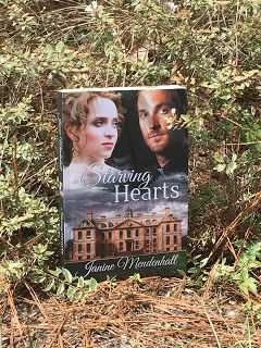 Starving Hearts by Janine Mendenhall. Check out my #review here: http://spreadinghisgrace.blogspot.com/2016/08/my-bookshelf-starving-hearts-by-janine.html