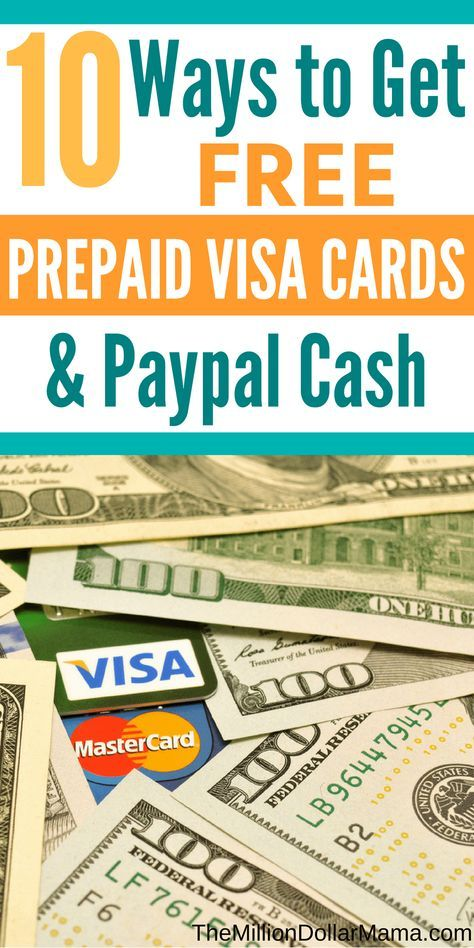 How To Get Free Prepaid Visa Gift Cards 2020 Guide Earn Gift Cards Paypal Gift Card Prepaid Visa Card