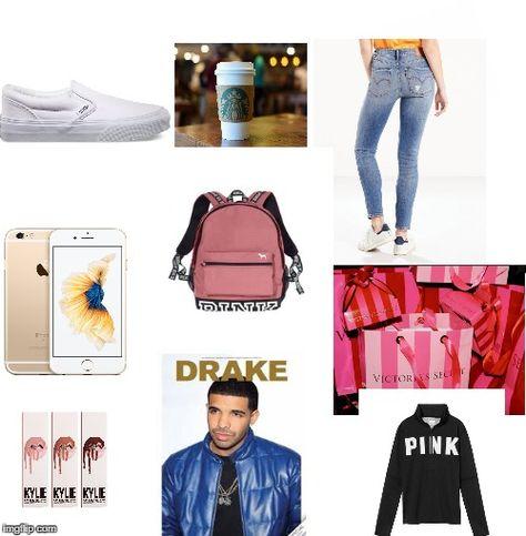 white girl Starter Pack