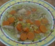 Rezept Schnelle Hühnersuppe all in one von schneckee - Rezept der