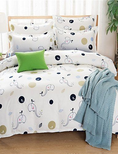 Jt Bedding Bed Linings Brushed Cotton Super Soft Aloe Cartoon Family Of Four Bedding Linen Quilt Bedding Set Twin Quilt Sets Bedding Linen Bedding Linen Quilt