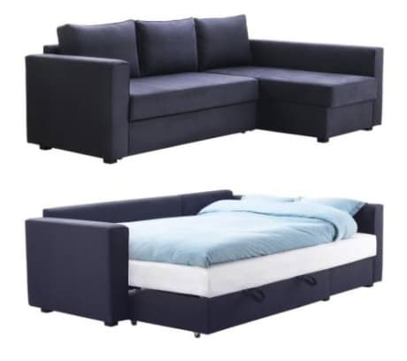 Manstad Sofa Bed With Storage From Ikea Sofa Bed With Storage