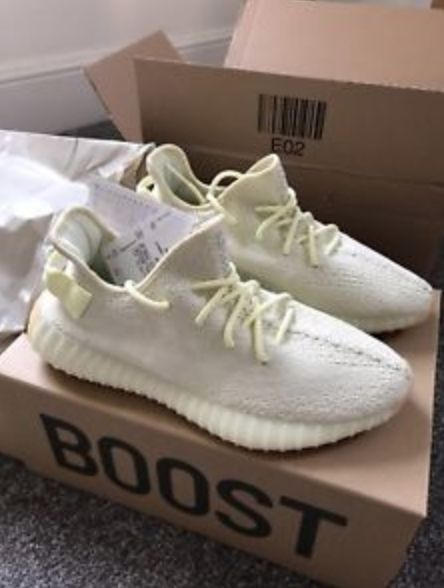Adidas Yeezy Boost 350 V2 Butter by Kanye West Size UK 8.5