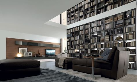 39 best Wall Candy images on Pinterest Libraries, Wall candy and - bucherregal systeme presotto highlight wohnraum