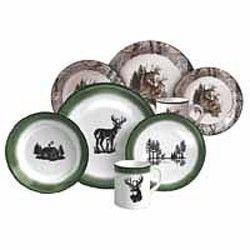 REP Deer/Camo 16 Piece Dinnerware 940 | i \u003c3 camo! | Pinterest | Dinnerware Camo and House  sc 1 st  Pinterest & REP Deer/Camo 16 Piece Dinnerware 940 | i \u003c3 camo! | Pinterest ...