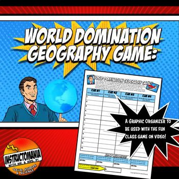 World Domination Game >> World Domination Geography Game Answer Document All The