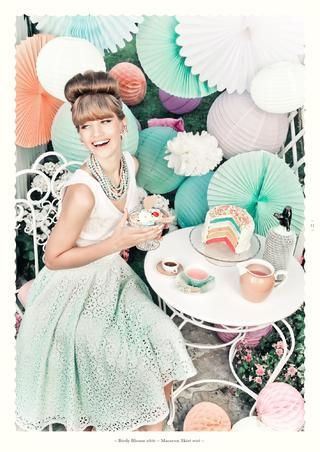 my favourite macaron skirt - Lena Hoschek Spring Summer 2014