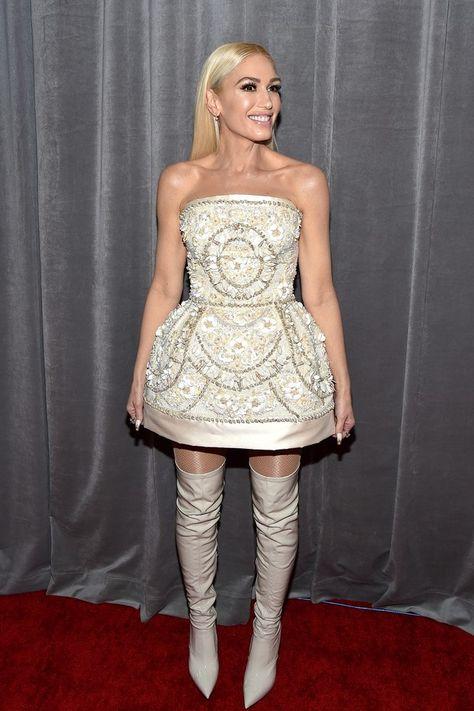 Grammy Awards 2020 Famosas Trocam O Vestido Longo Pelo Mini Vestido Dolce Gabbana Ideias De Moda E Looks