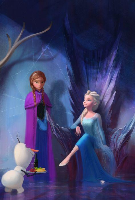 Frozen fan art by purrskill on DeviantArt