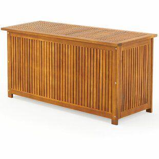 Symple Stuff 300 L Aufbewahrungsbox Aus Kunststoff Wayfair De Aufbewahrungsbox Aufbewahrung Holzterrasse