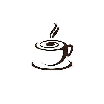 فنجان قهوة شعار تصميم قالب تصميم شعار مقهى أيقونة Coffee