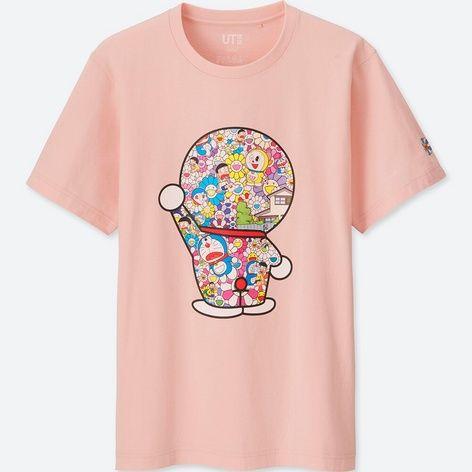 ドラえもんグラフィックt 半袖 uniqlo ユニクロ きゃわわ グラフィックtシャツ tシャツ ユニクロ