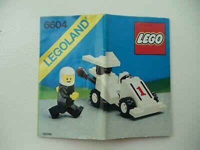 Vintage 6604 LEGO Town Formula 1 Racer