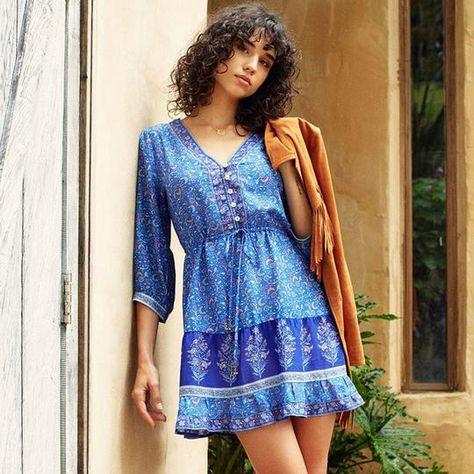00dd9673202 Medium Floral Print Dress  fashion  clothing  shoes  accessories   womensclothing  dresses (ebay link)