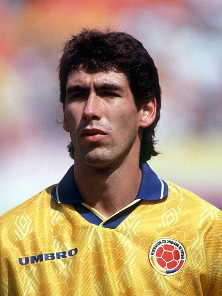 Miami Andres Escobar Portrait Portraet Federacion Colombiana De Futbol Selección De Fútbol De Colombia Leyendas De Futbol