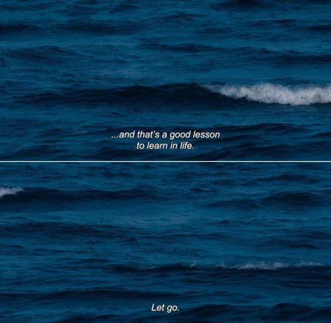 Let go. via Scrapbook