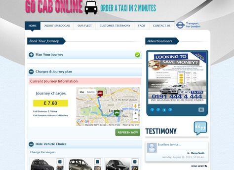 Speedo Cab (Go Cab Online) - Enterprise cab booking ...