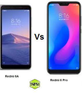 Tspn1 Comparison Of Xiaomi Redmi 6 Pro And Xiaomi Redmi Xiaomi Smartphone News Mobile Technology