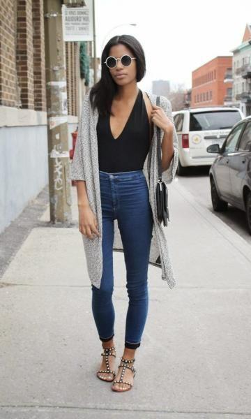 29 Ideas De Jeans A La Cintura Jeans A La Cintura Moda Para Mujer Moda