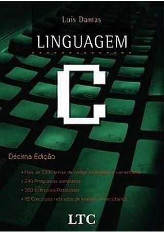 Cover Of Linguagem C 10ªed Luis Damas Ya Desperte Llevamos