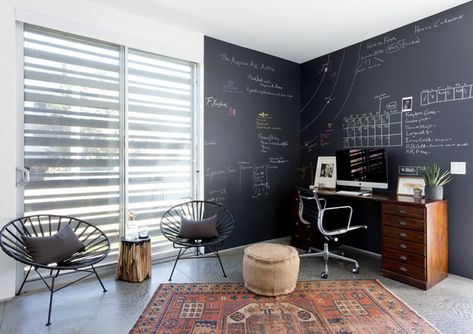 Writing Nook - Pierce Brown's Bachelor Pad Brings The Drama To A Cali Cool Space - Photos