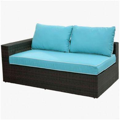 Qualitat Big Sofa Landhaus Teak Outdoor Furniture Patio Chair Cushions Outdoor Chair Cushions