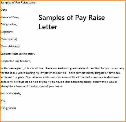 Salary Increase Letter Template From Employer To Employee from i.pinimg.com