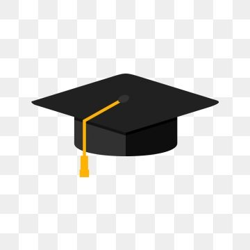 Graduation Cap Flat Multi Color Icon Graduation Cap Cap Hat Png