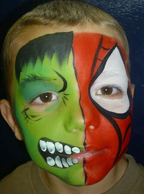 Yuz Boyama Face Painting Halloween Kids Face Paint Face Painting Designs