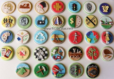 Top 10 badge-winning Boy Scout cakes and cupcakes!