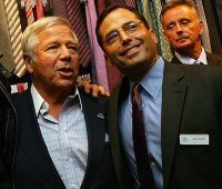 Robert Kraft's son pokes fun at Jets