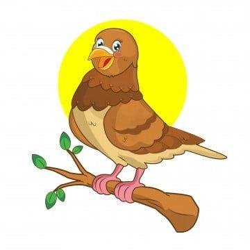 Gambar Kartun Merpati Lucu Hewan Ikon Vektor Png Dan Vektor Dengan Latar Belakang Transparan Untuk Unduh Gratis Cute Pigeon Animal Icon Cartoon