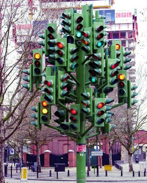 Traffic Light in London