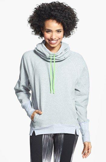 Athleta Cowl Neck Sweatshirt