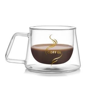 200ml Glass Cup Set Home Belly Thickened Coffee Cups High Quality