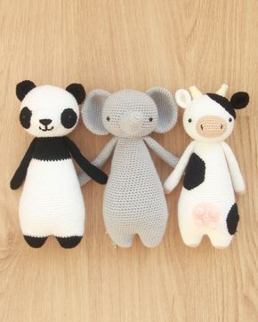 Panda Amigurumi Crochet Tutorial Part 1 - YouTube | 362x290