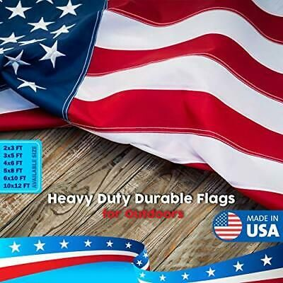 Ad Ebay Url American Flag 3x5 Ft Outdoor Us Flags Made In Large Usa Heavy 3 By 5 Feet In 2020 Us Army Flag American Flag Army Flag