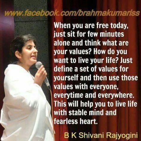 19 Sister Shivani Ideas Bk Shivani Quotes Om Shanti Quotes Sister Quotes