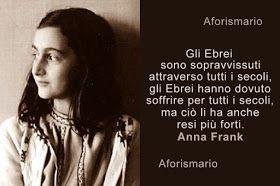 Anna Frank Le Piu Belle Frasi Dal Diario Anna Citazioni E Diario