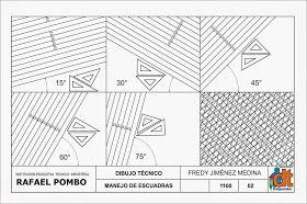 Dibujo Tecnico Grado Decimo Manejo De Instrumentos Instrumentos De Dibujo Ejercicios De Dibujo Tecnicas De Dibujo