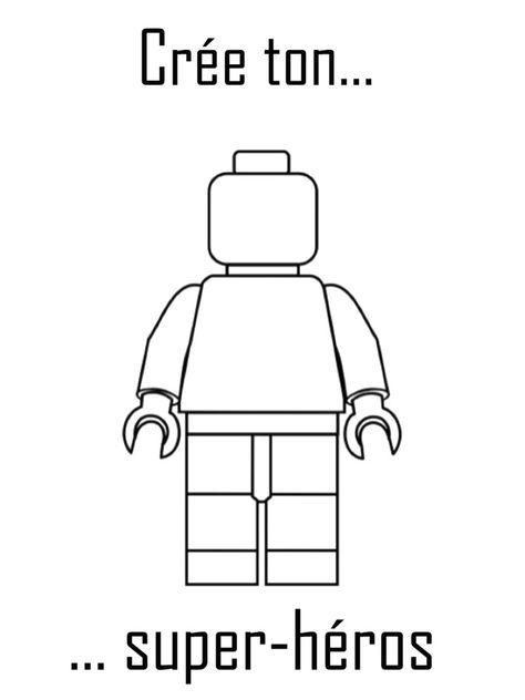 Coloriage Lego 20 Dessins Imprimer Gratuitement Avec Super Heros