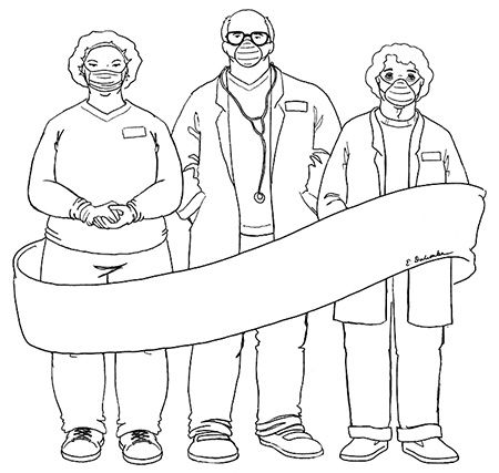 Coloring Page Tuesday Healthcare Heroes Today S Image If Of Our Healthcare Heroes I Was Going To Put Front Line Heroes Coloring Pages Today Images Hero