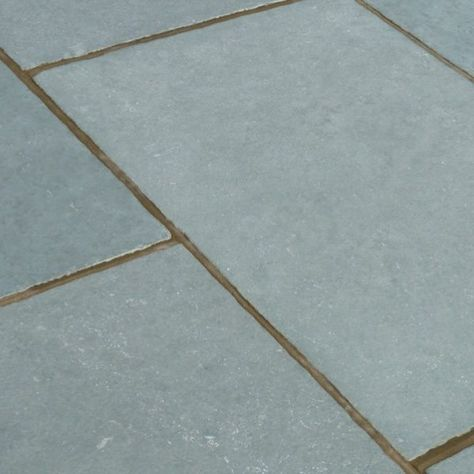 Kota Blue Limestone Tumbled Limestone Paving Paving Slabs Tumbled Stones